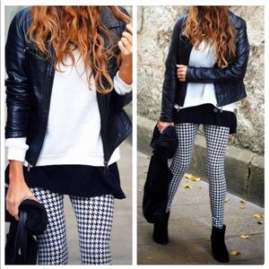 Infinity Raine Pants - Houndstooth Leggings